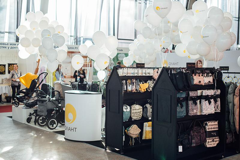 Сеть магазинов для мам и малышей Олант — постоянный участник Фестиваля беременных и младенцев WANEXPO!