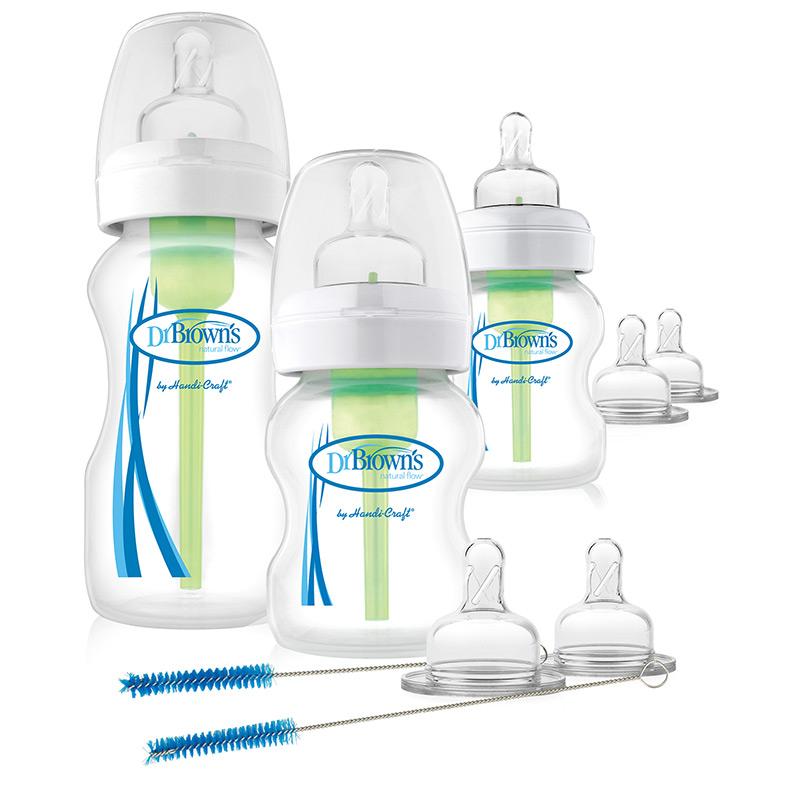 Dr.Brown's уникальная антиколиковая бутылочка для вашего малыша!